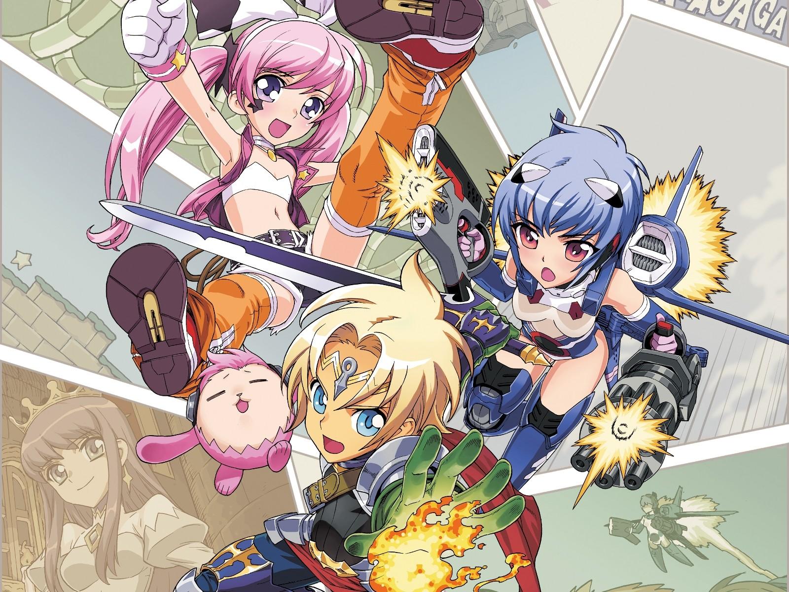 Illustration Anime Anime Girls Anime Boys Cartoon Rpg Comics Rpg Maker Mangaka Comic Book