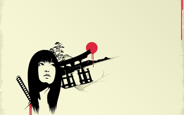 Wallpaper : drawing, illustration, digital art, women, simple ...