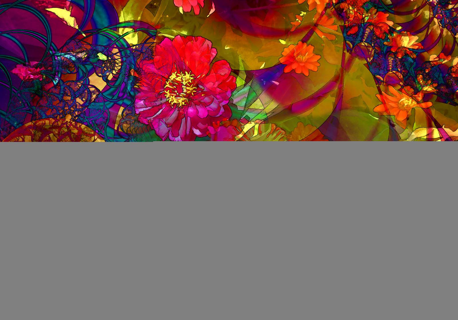 Hintergrundbilder Bunt Photoshop Blumen Garten Natur Collage Fotografie Muster Psychedelisch Blumen Kunst Farbe Blume Blutenblatt Topas Bildschirmfoto Photmanuplation Moderne Kunst Fraktalkunst 5000x3500 613456