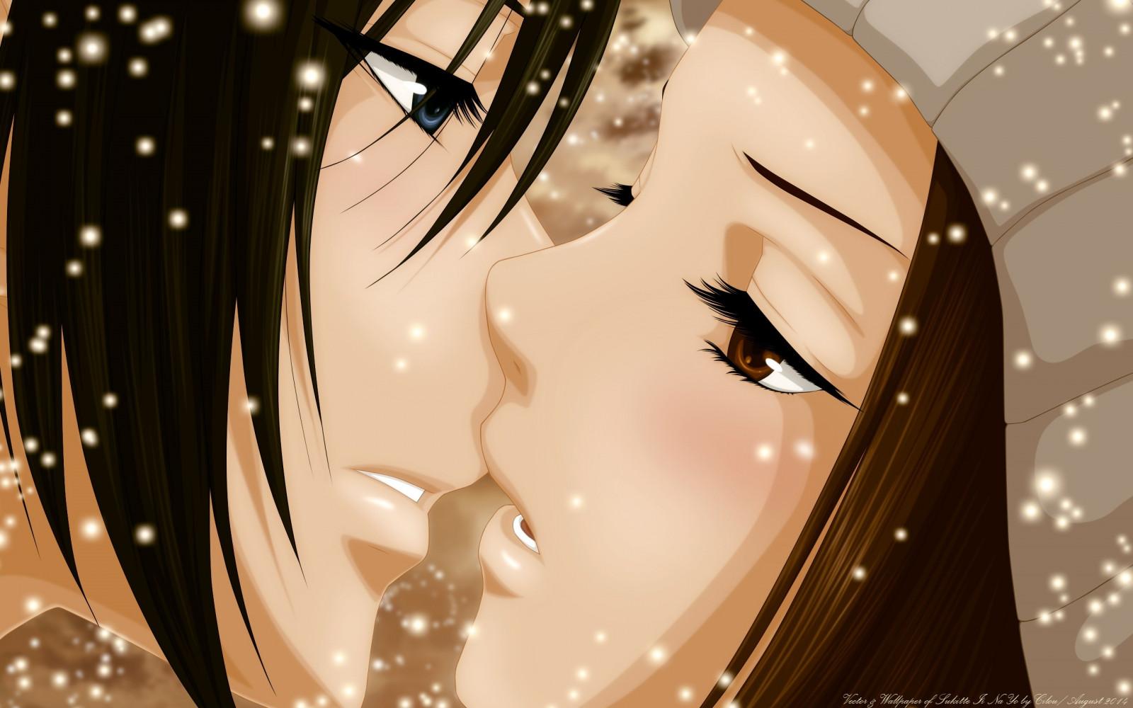 Девушками лет, аниме я тебя люблю картинки