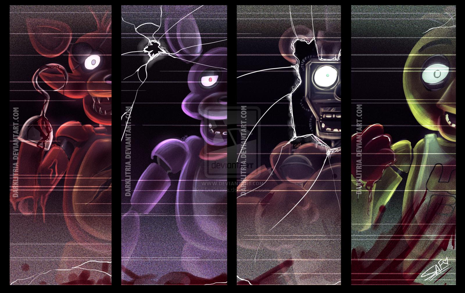 Wallpaper Illustration Animals Video Games Five Nights At