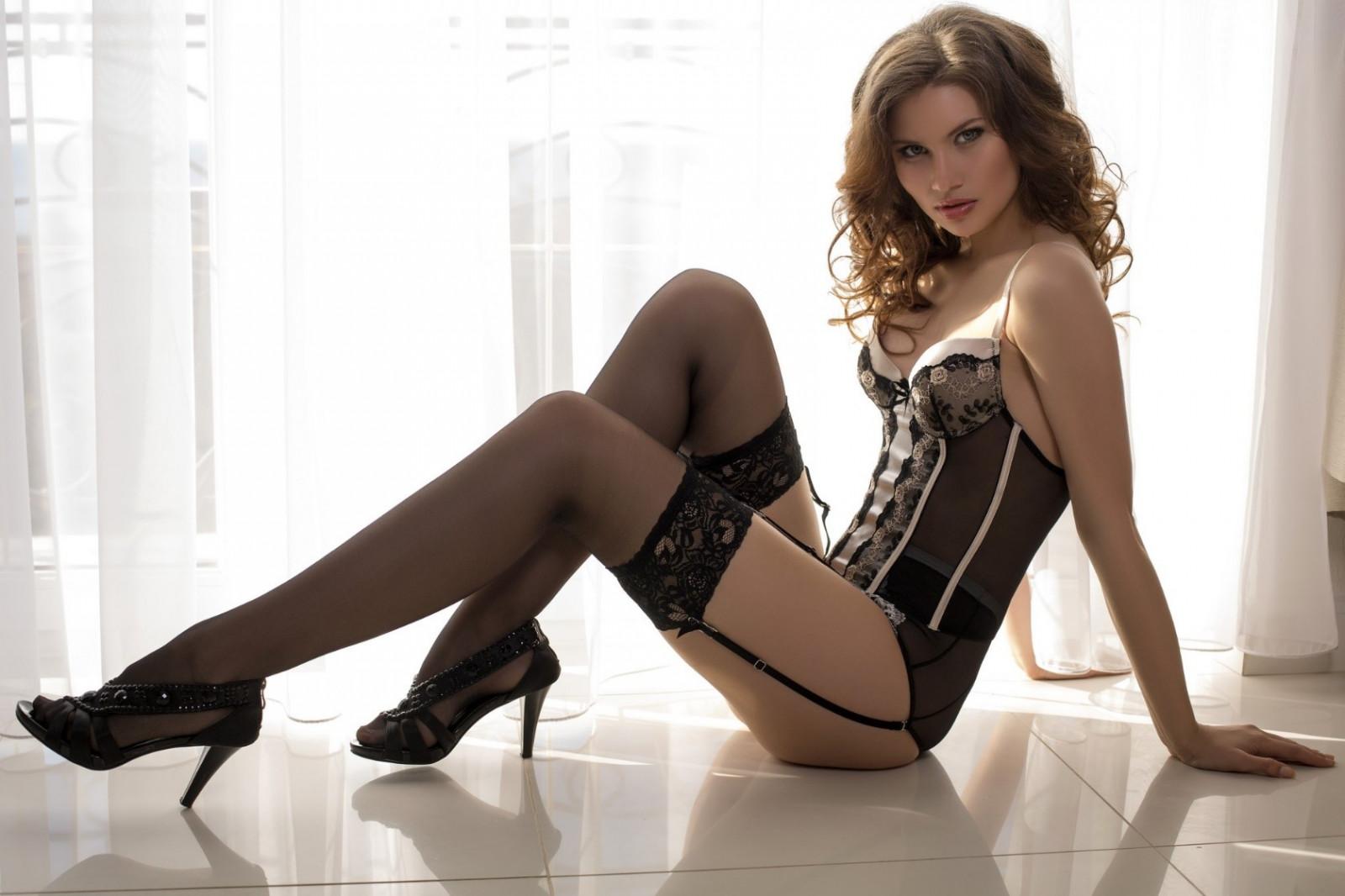 High heels stockings