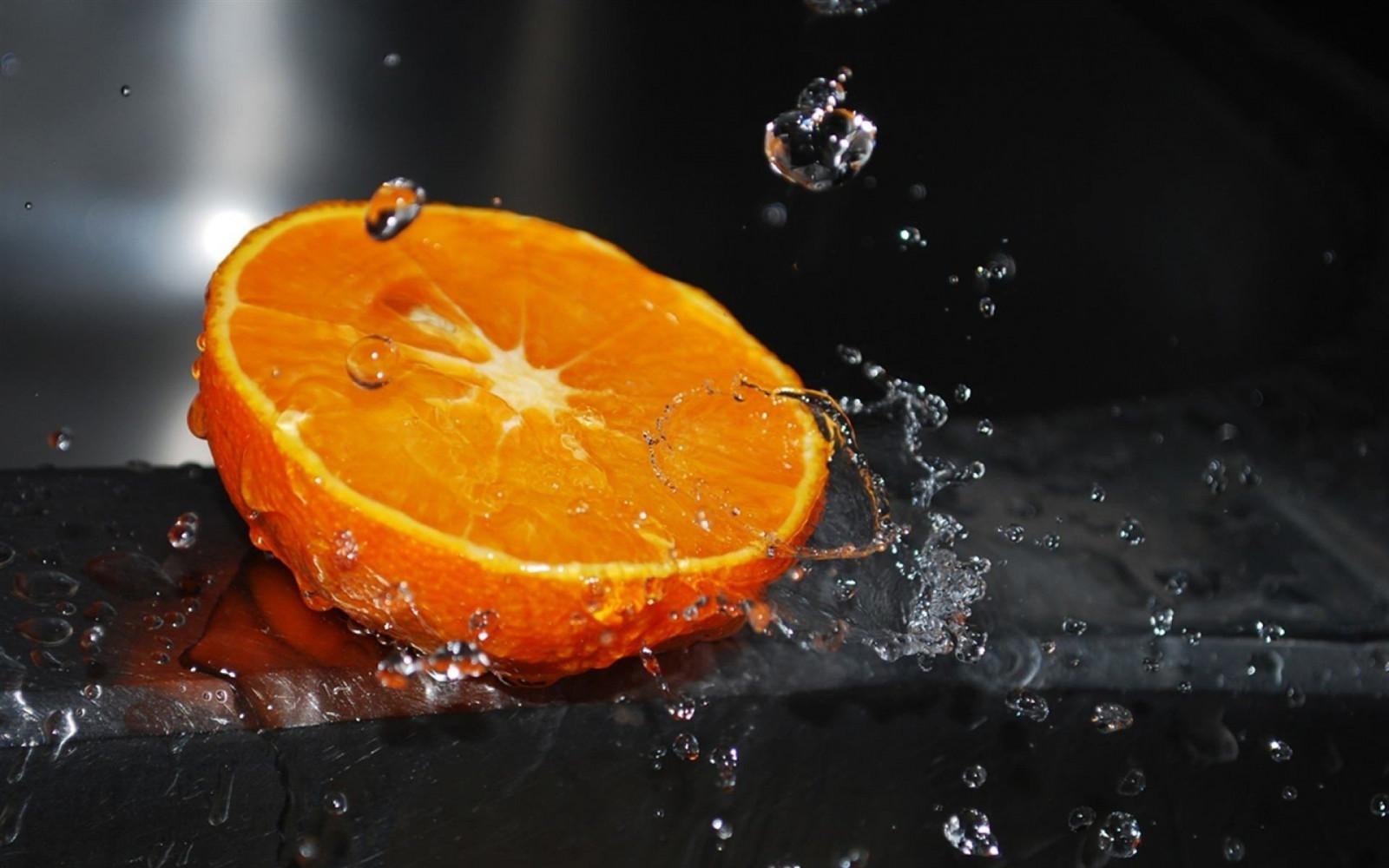 1920x1200 px, ART, beauty, black, citrus, drops, fresh, macro, orange, photographer, splash, splashing, wallpaper, water