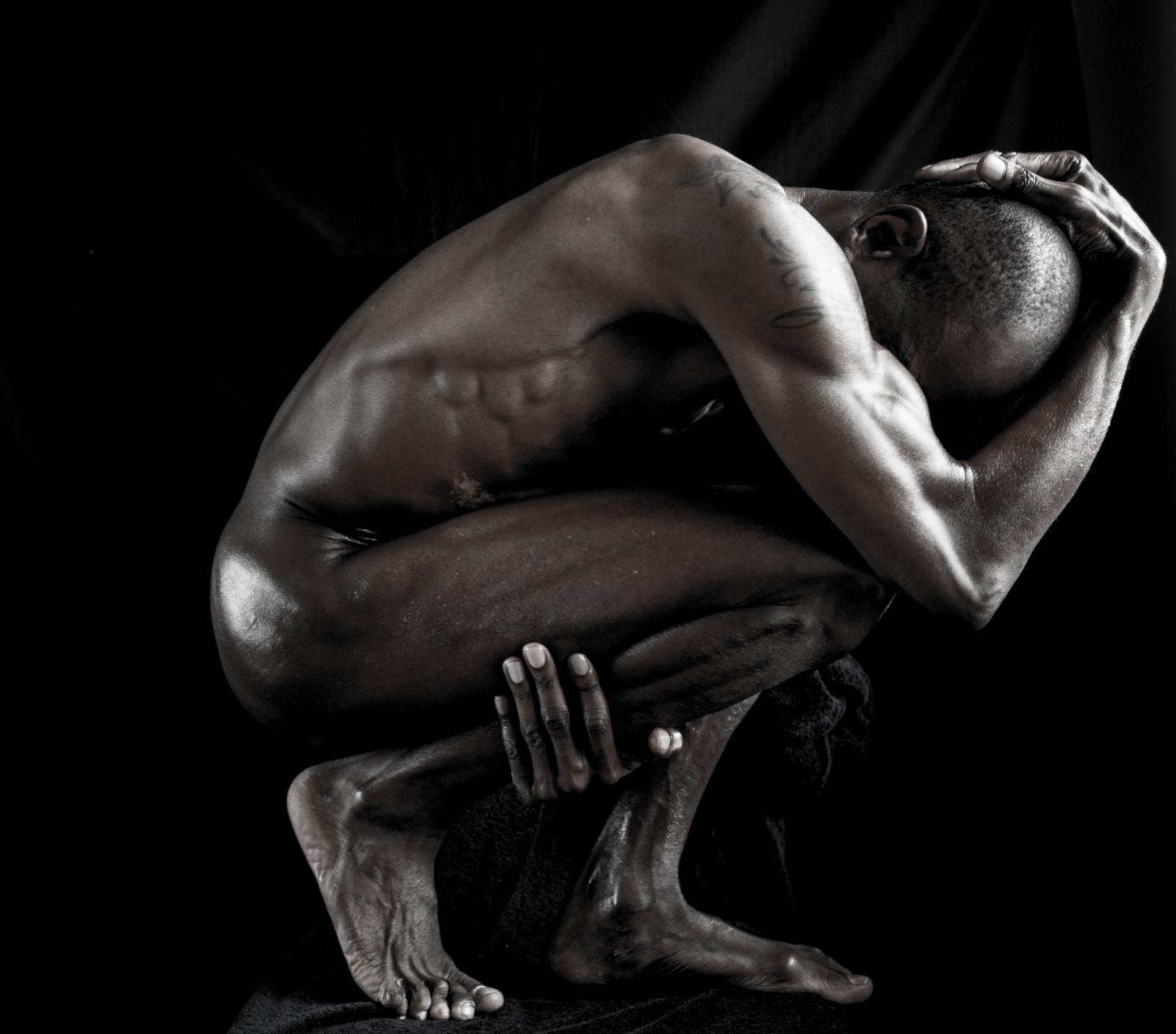 Wallpaper : actor, back, solo, dancer, bodybuilding, nude, flesh ... for Bodybuilding Art Photography  34eri