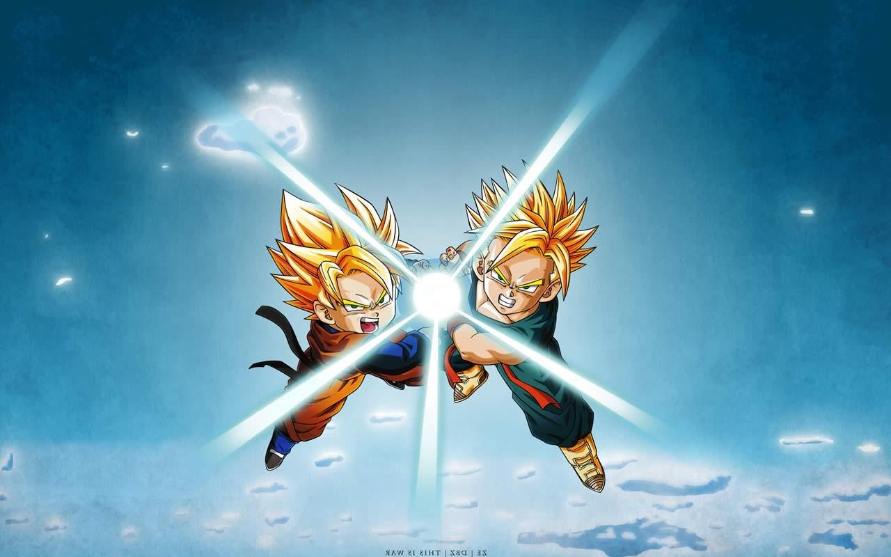 Fond d'écran : lumière du soleil, Anime, ciel, Dragon Ball, Dragon Ball Z, Super Saiyan ...