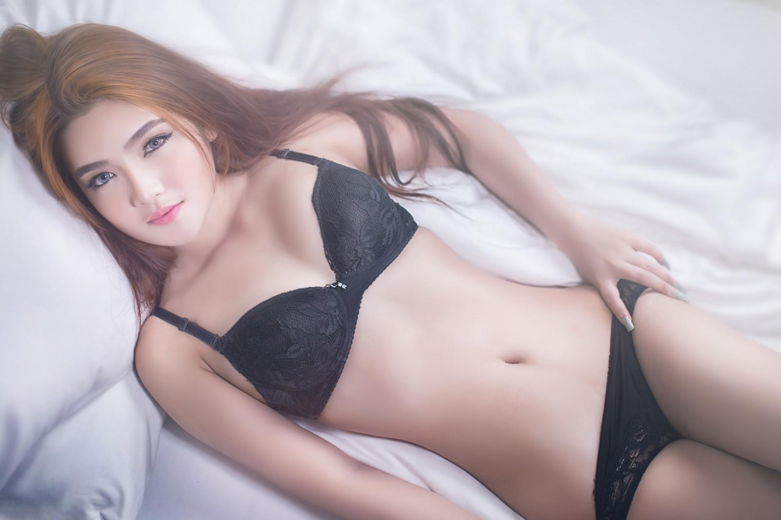 Самые красивые китаянки в нижнем белье