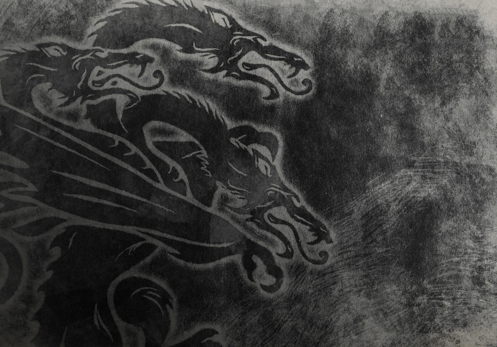 Sfondi Monocromo Opera Darte Sketch Up Arte Albero Sfondo