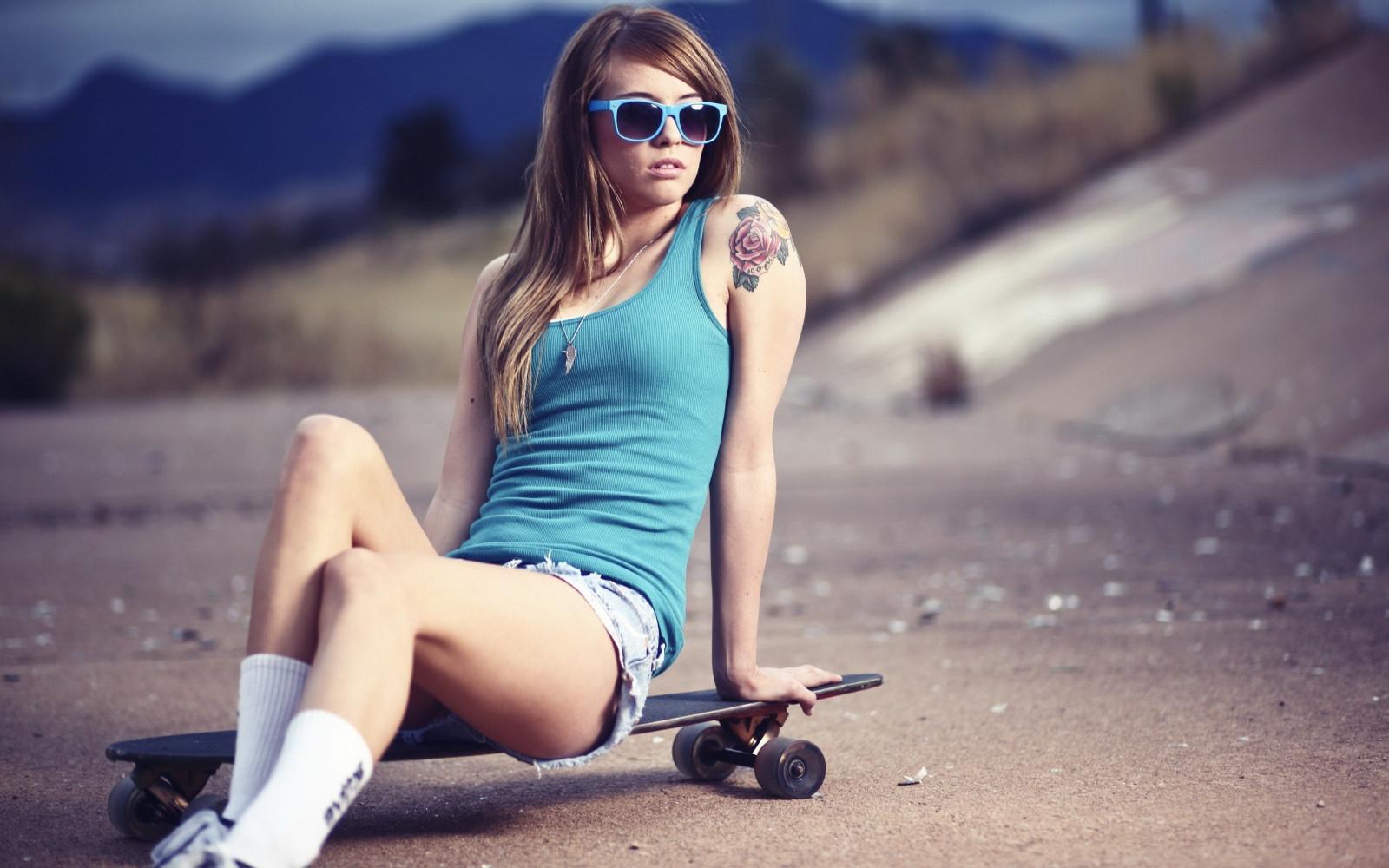 Скейтборд с девушками фото