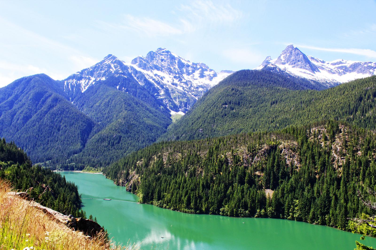 Fondos de pantalla papel pintado lago paisaje washington alta resoluci n viaje diablo - Papel pintado paisajes ...