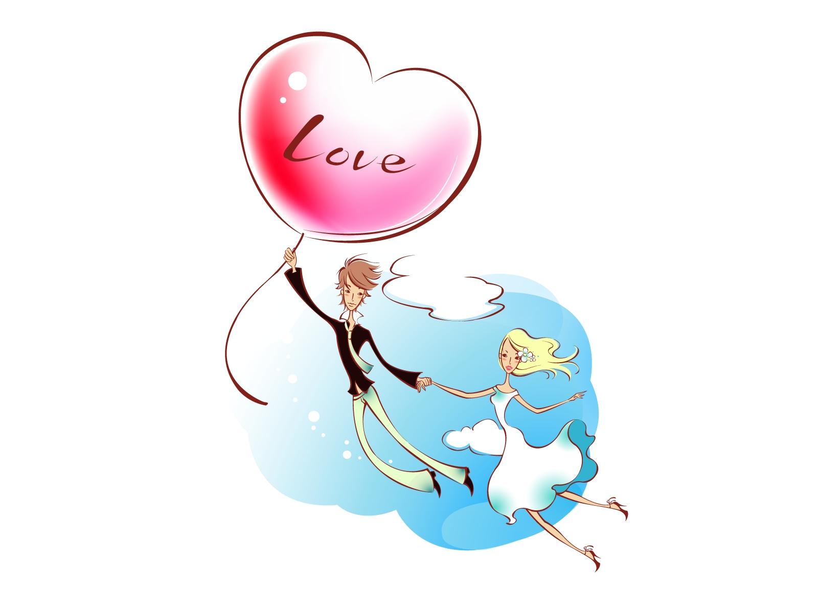 Papel De Parede Desenhando Ilustracao Amor Coracao Desenho