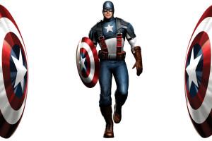 Fond d 39 cran super h ros marvel comics drapeau - Capitaine americain ...