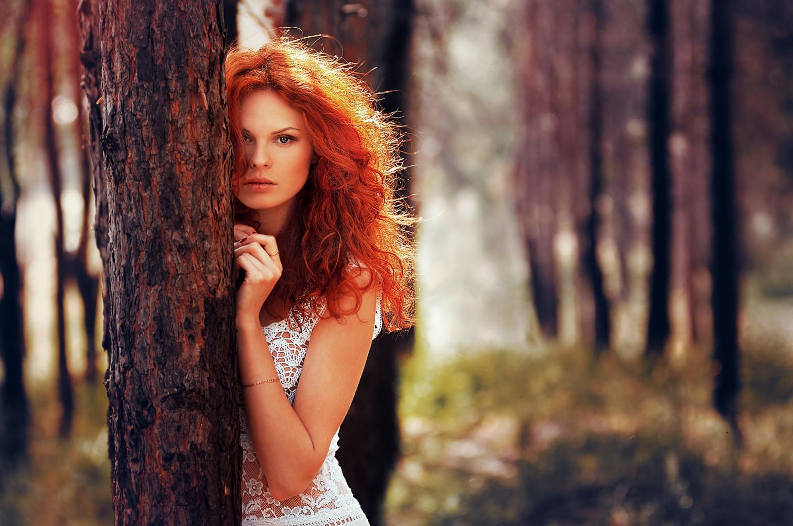 Красивые бледно рыжие девушки профессиональные фотки