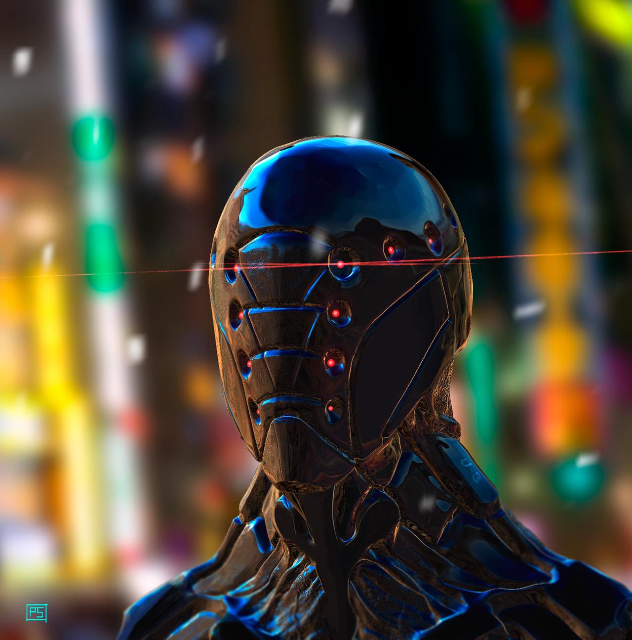 400 Wallpaper Biru Robot  Gratis
