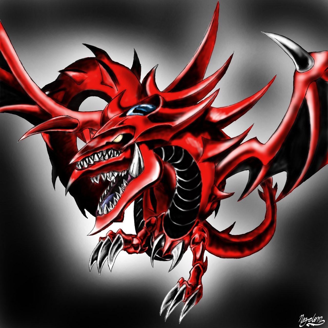 Illustration Dragon Demon Yu Gi Oh Slifer The Sky Fictional Character