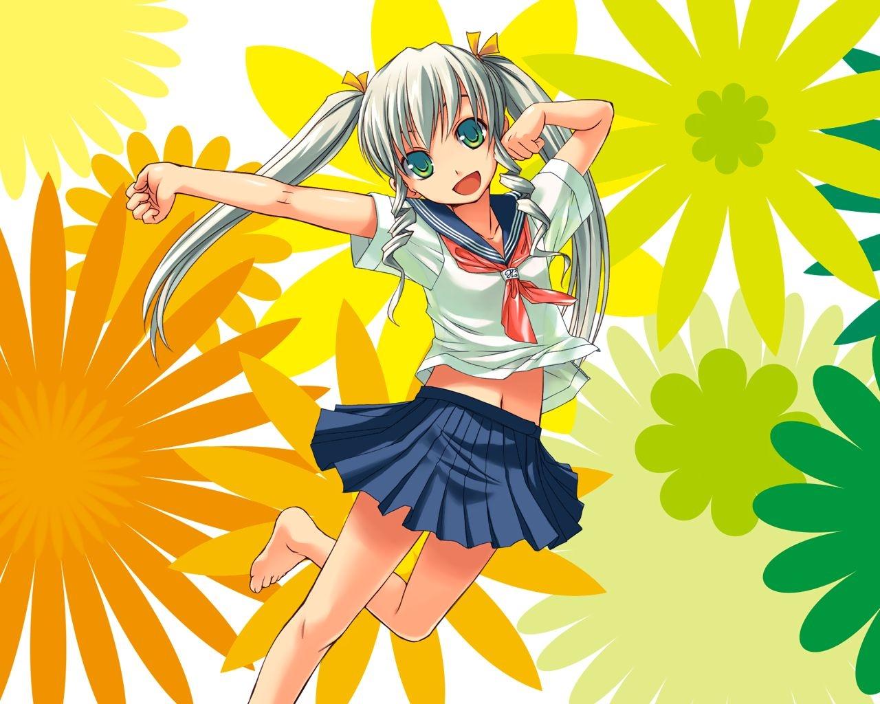 Fondos De Pantalla : Ilustración, Flores, Anime, Dibujos