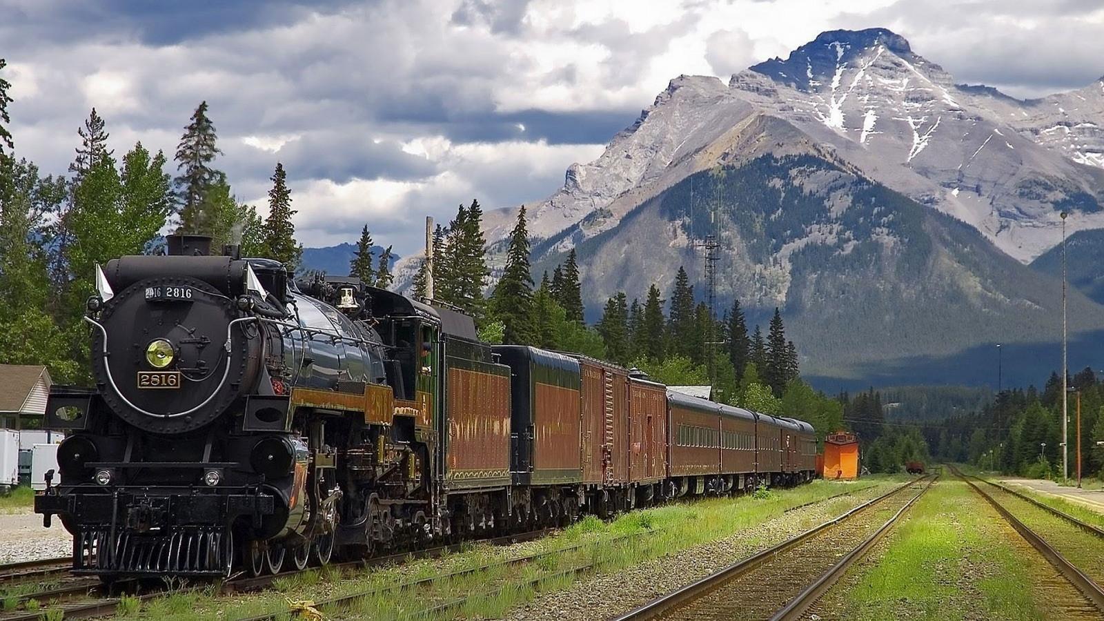 поезда красивая фотография