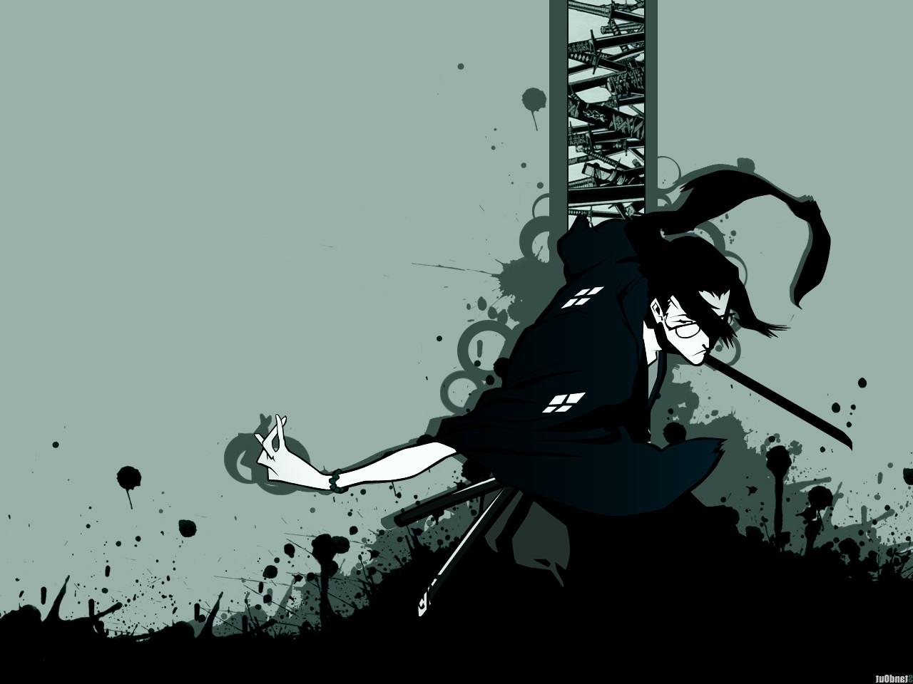 デスクトップ壁紙 図 アニメ シルエット 漫画 サムライ