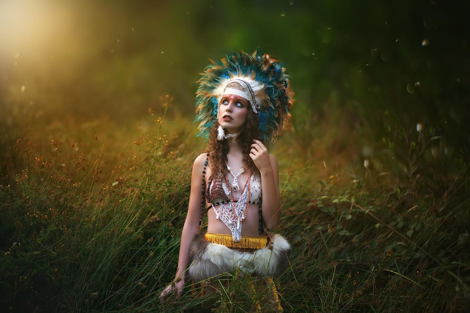 women Outdoors, Model, Women, Fantasy Art, Nature