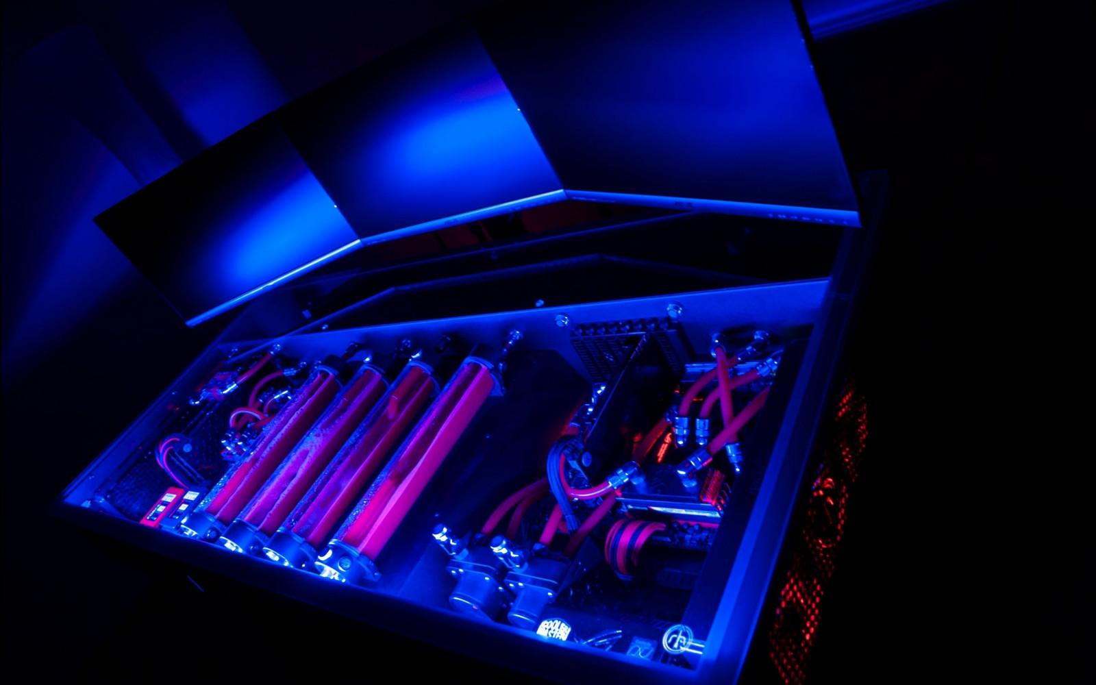 Fond D 233 Cran Bleu Ordinateur La Technologie Jeux Pc