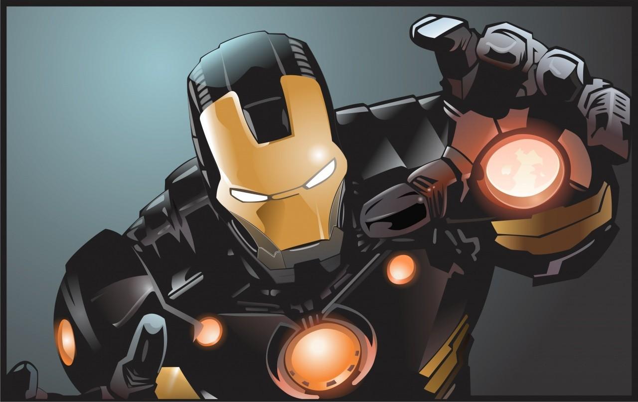 Sfondi illustrazione anime cartone animato uomo di ferro