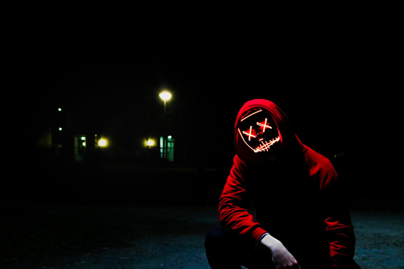 Wallpaper Dark Background Male Models Men Night Hoods