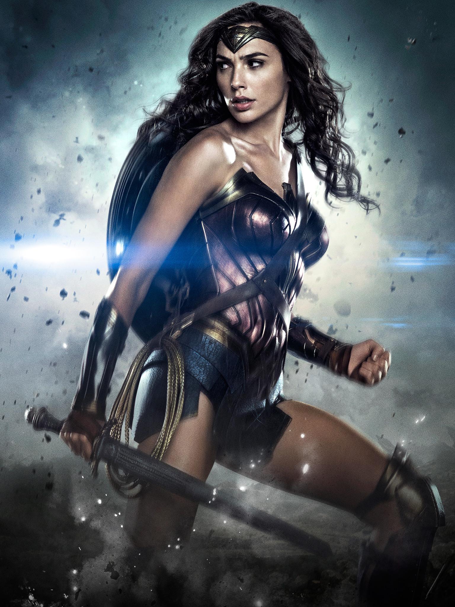 Wallpaper Wonder Woman Dc Comics Diana Gal Gadot 1536x2048