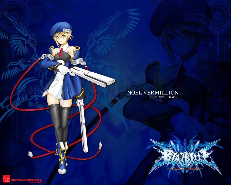 Illustration Anime Blazblue Noel Vermillion Screenshot Computer Wallpaper Fictional Character