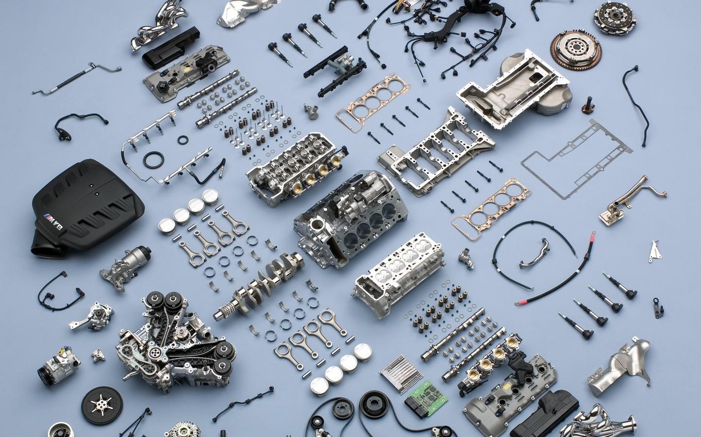 Wallpaper : BMW, engines, motors, car parts, 1440x900 px, font ...