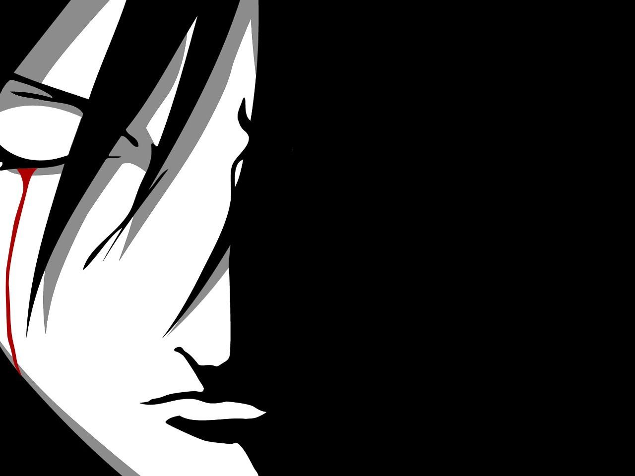 Fondos de pantalla  monocromo Ojos cerrados Anime dibujos