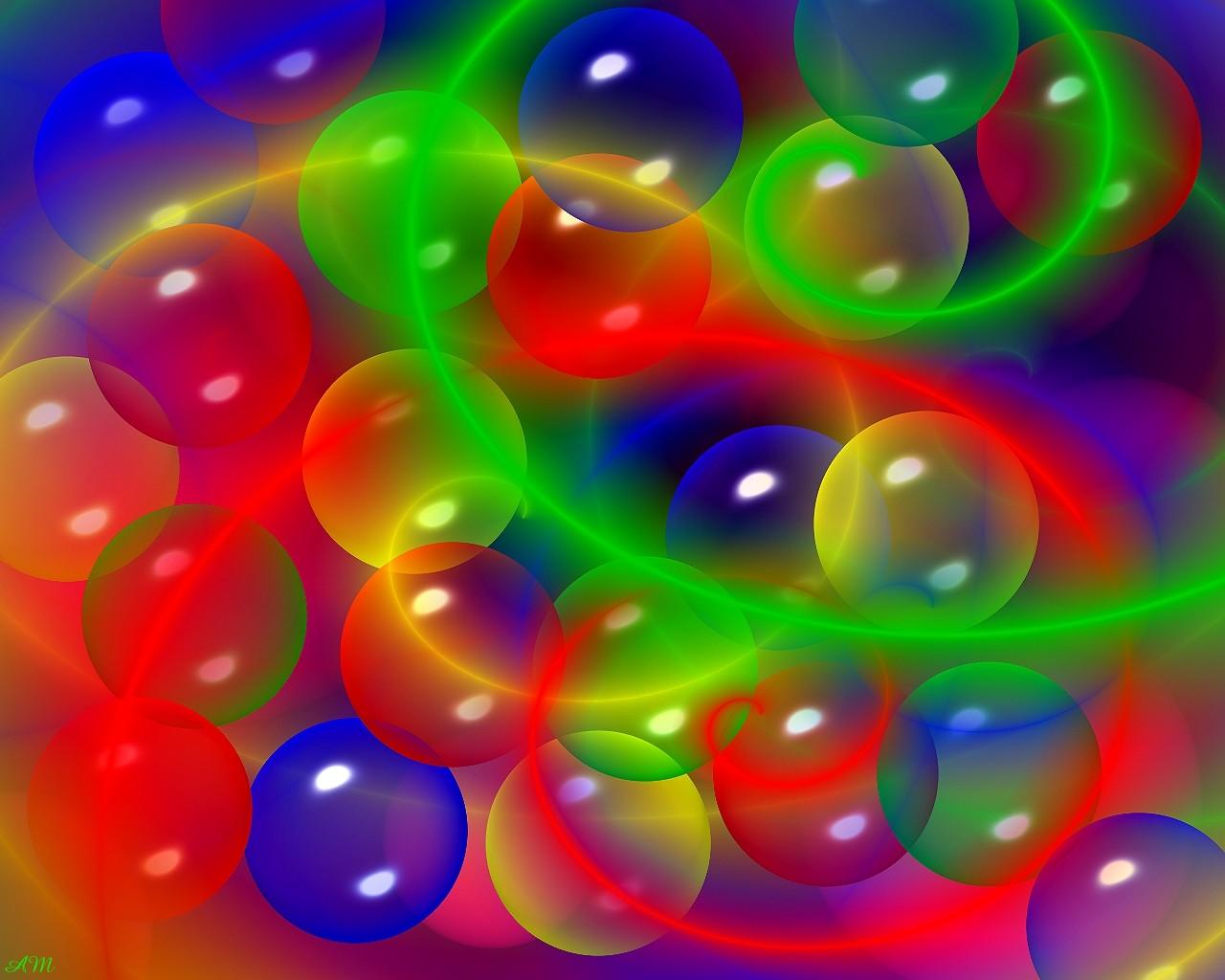 Картинки с разноцветными пузырьками