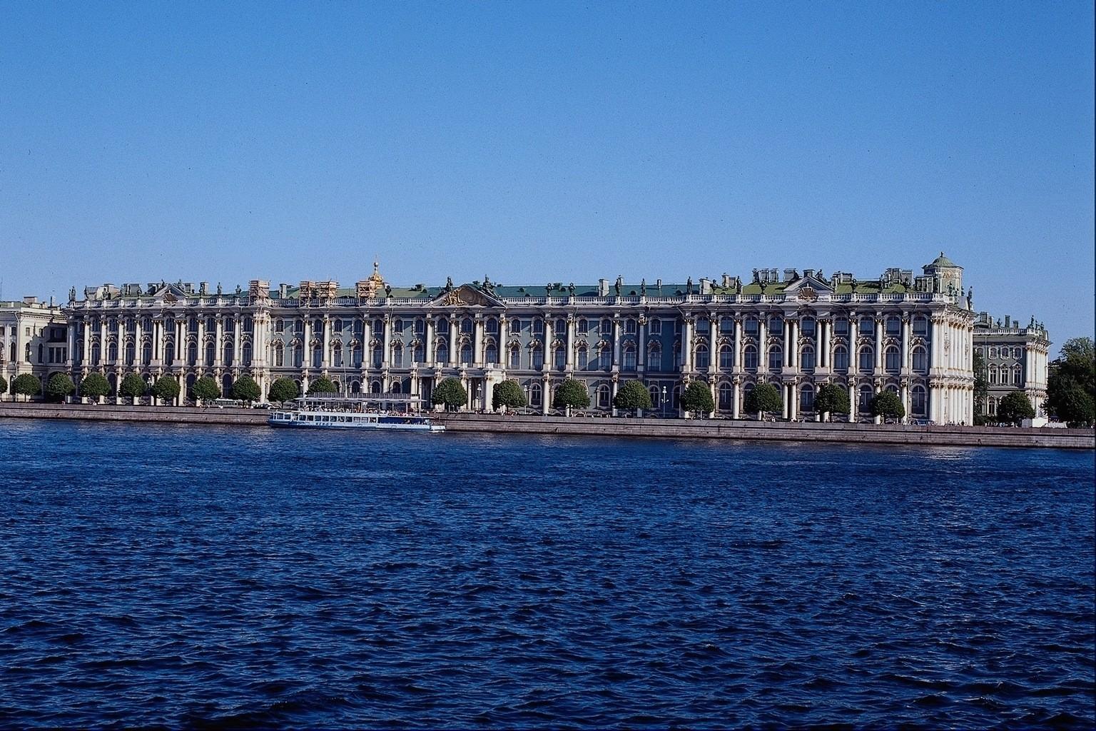 Baggrunde Hav By Bybilledet Skyline Bro Flod Panorama Sankt