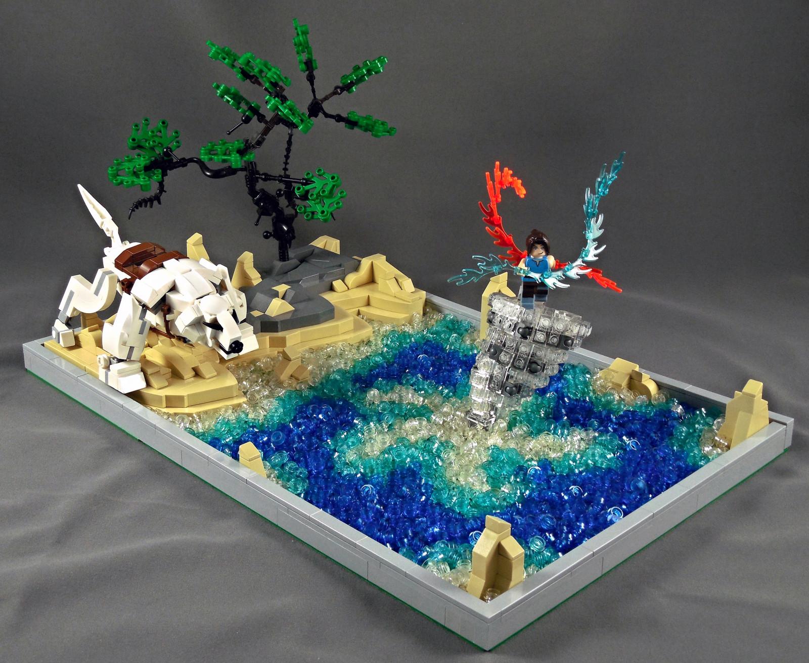 Sfondi cartone animato lego cane avatar giocattolo korra