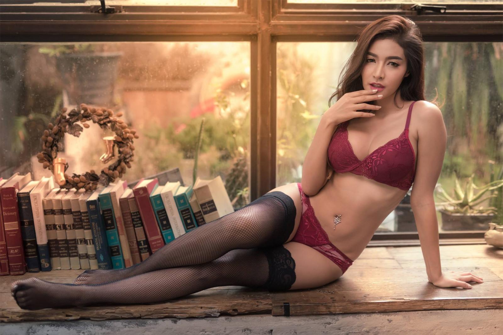 All asian lingerie model galleries