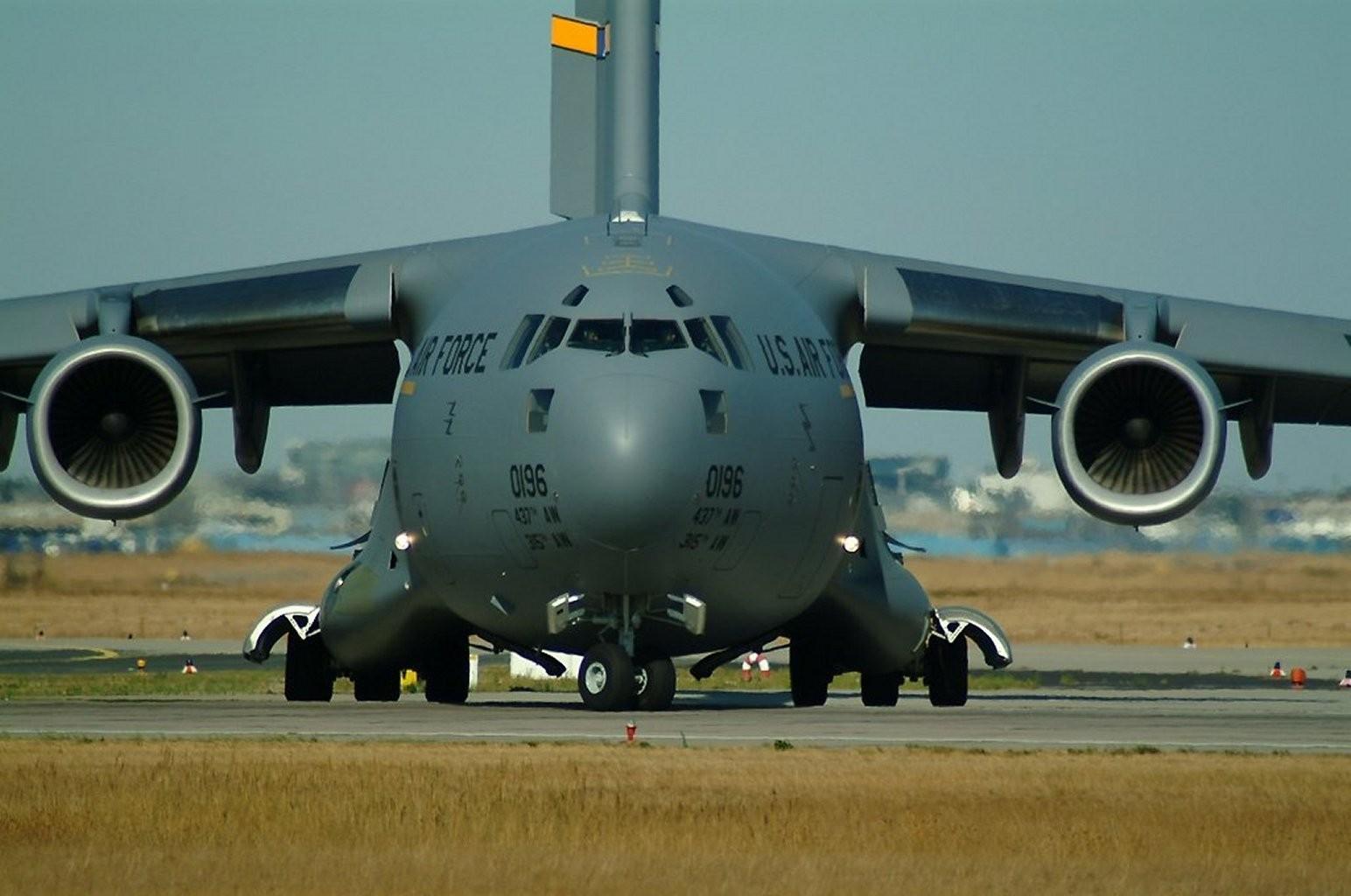 デスクトップ壁紙 : 車両, 飛行機, 軍事, 軍用機, ボーイングC 17 ...