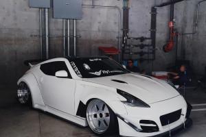 Wallpaper Jdm Sports Car Tuning Garage Nissan 370z