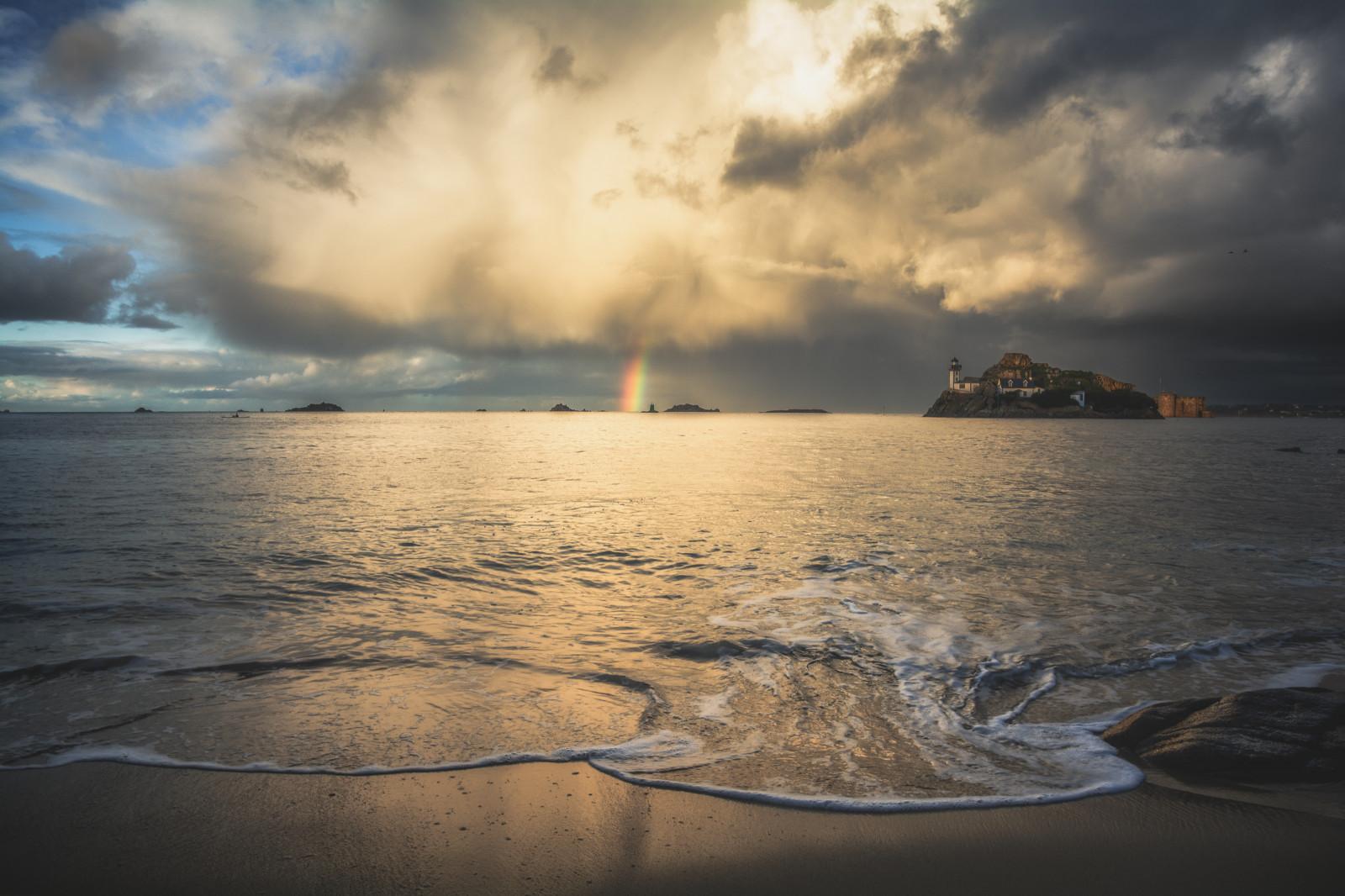 Fond d'écran : orage, En, Ciel, Nuage, Carantec, Bretagne, France, Nikon, D7100, HD, 4k, Paysage ...