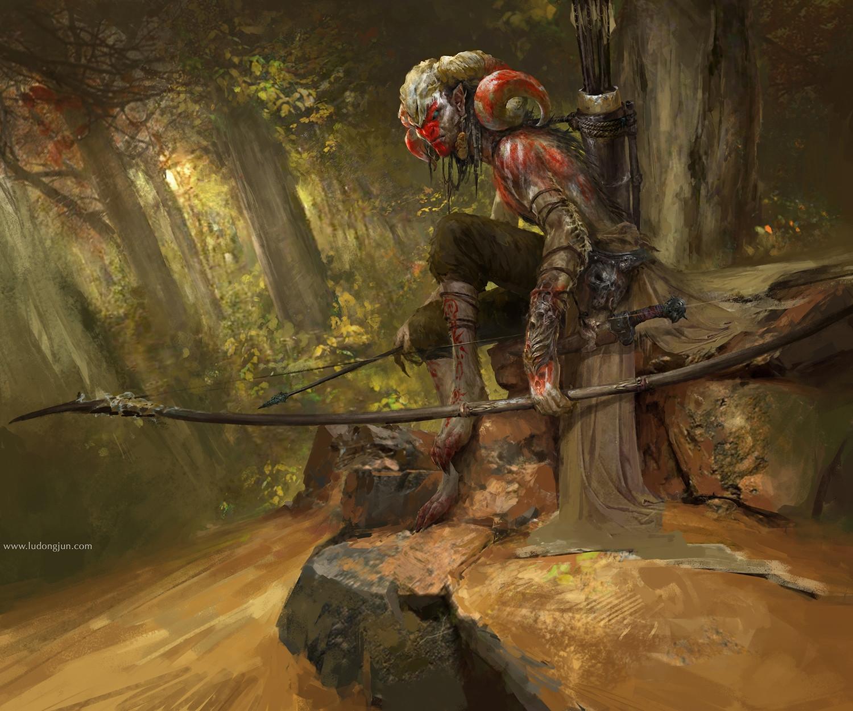 Картинки охотника фэнтези