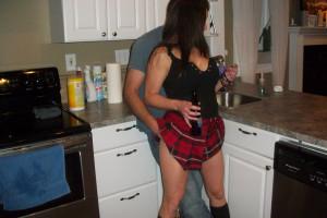 sexy teen in minirock ficken