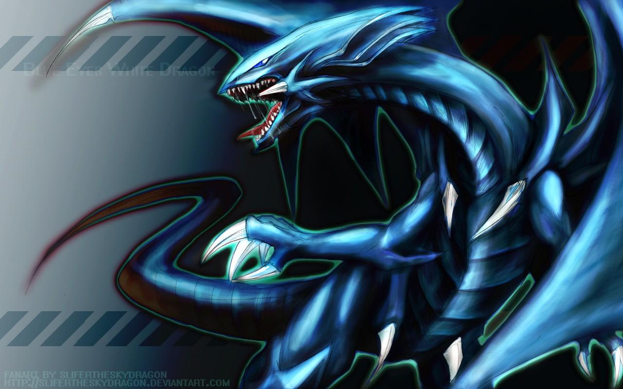 Sfondi Blu Drago Yu Gi Oh Immagine Dello Schermo Sfondo Del