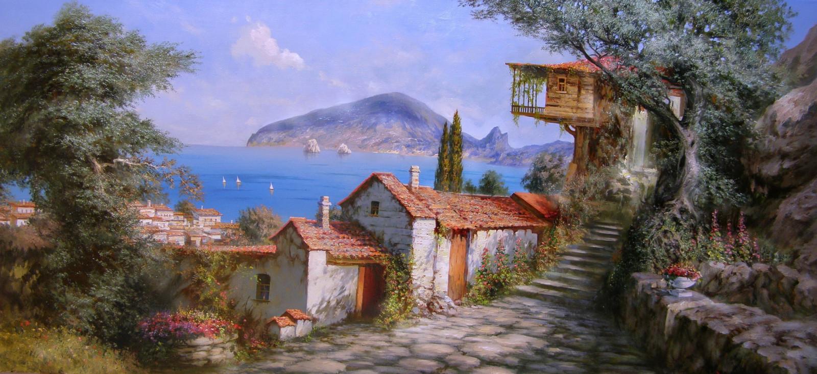Sfondi la pittura cielo casa turismo bokeh for Foto di decorazione della casa del cottage