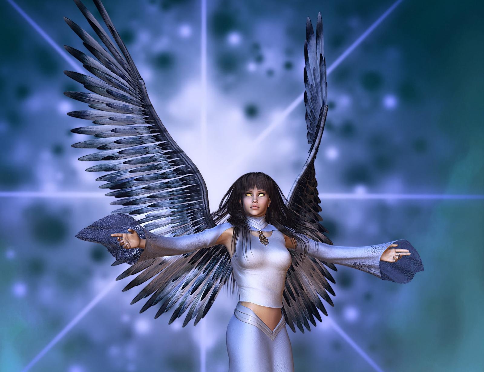 самые крутые картинки ангелов правило, для