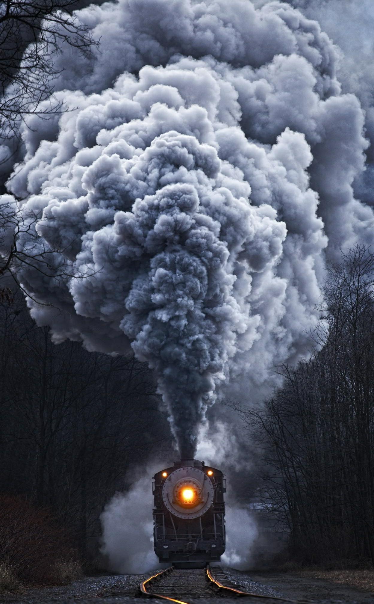 wallpaper : nature, portrait display, snow, train, asphalt, soil
