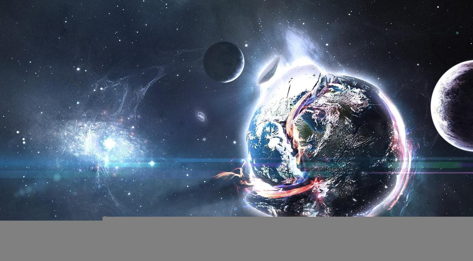Sfondi spazio pianeti esplosione detriti stelle for Sfondi spazio
