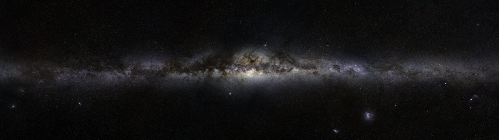 デジタルアート 夜 銀河 スペース 星 天の川 星雲 アンドロメダ 雰囲気 マルチディスプレイ 渦巻銀河 天文学 真夜中 星 闇 宇宙空間 天体