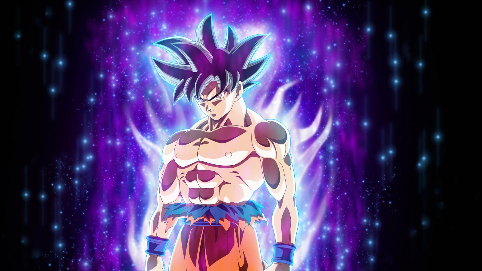 Wallpaper Dragon Ball Super Son Goku Ultra Instinct 3840x2160