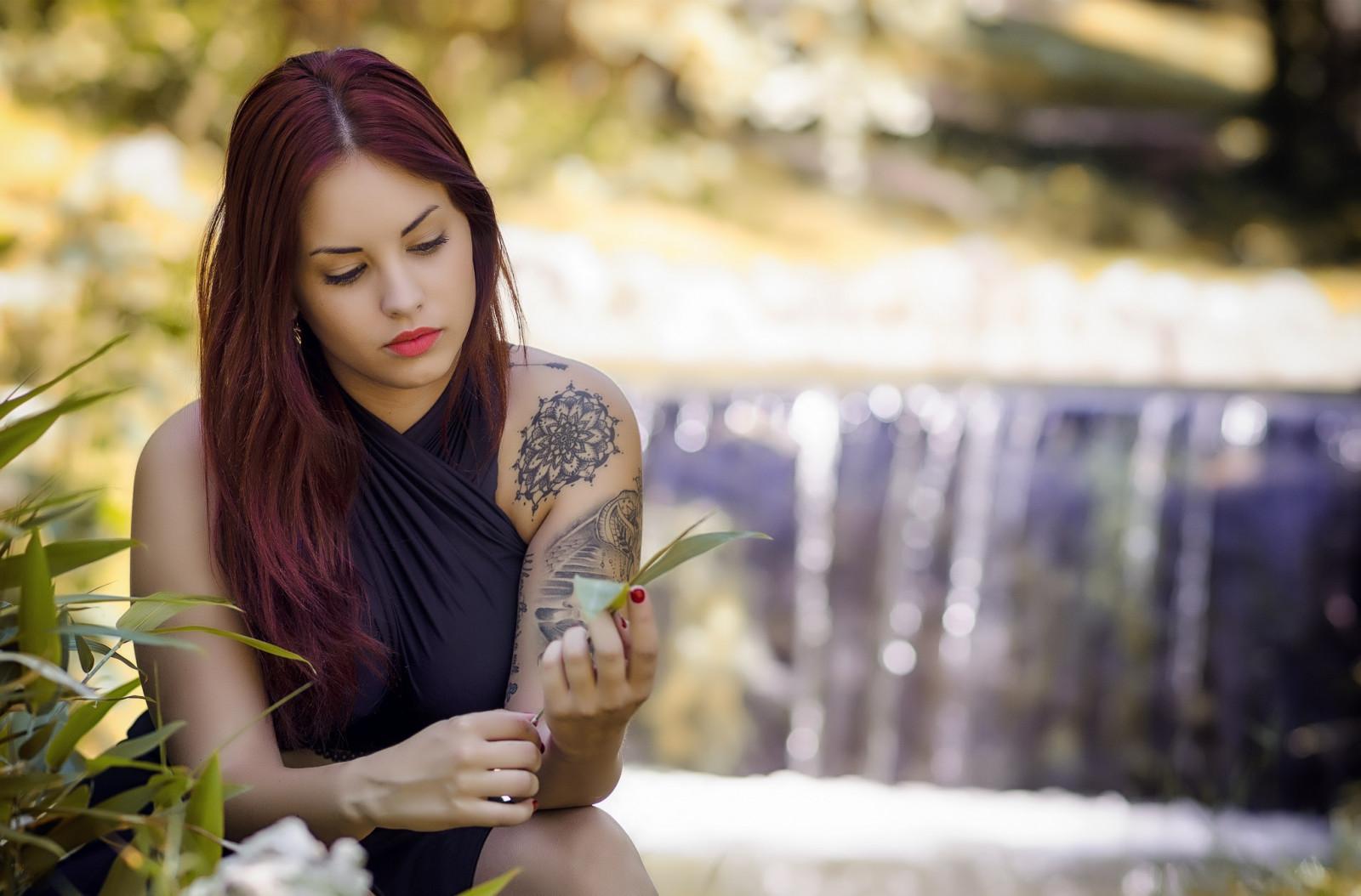 Fondos de pantalla : Amy Thunderbolt, mujer, modelo, pelo